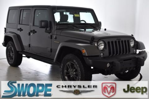 New 2018 JEEP Wrangler Unlimited Unlimited Freedom Edition